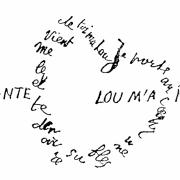 Apollinaire calligramme saignante fleche 1