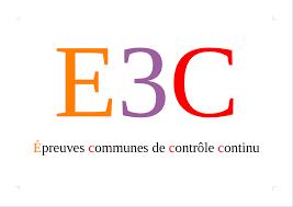 Baccalaureat e3c 3