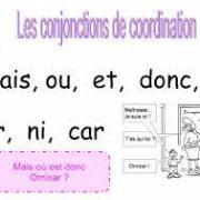 Conjonctions de coordination