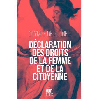 Declaration des droits de la femme et de la citoyenne ned