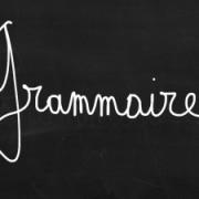 Grammaire 3