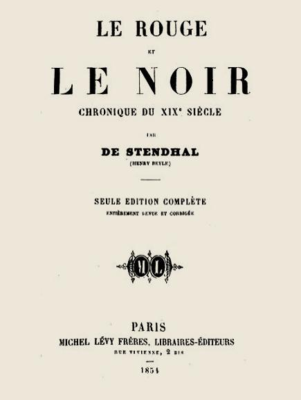 Stendhal le rouge